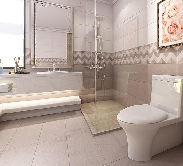 Bật mí mẫu gạch lát nền nhà vệ sinh chống trơn tốt, đẹp nhất 2021