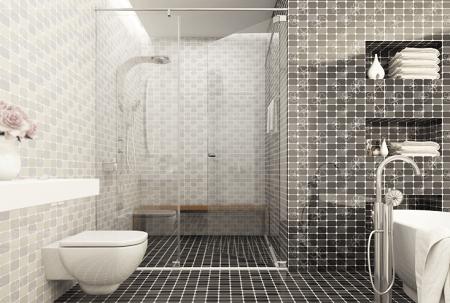 Gạch ốp nhà tắm Hoàn Mỹ