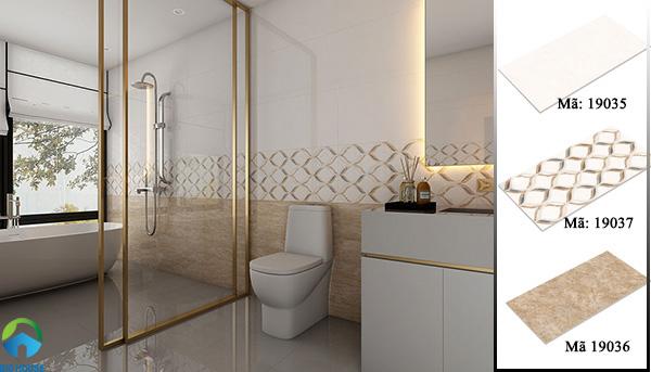 gạch ốp nhà vệ sinh hoàn mỹ