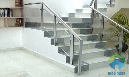 gạch ốp cầu thang hoàn mỹ