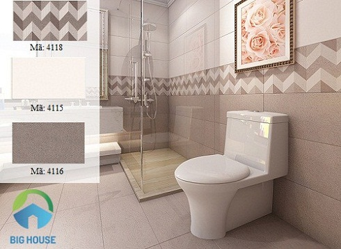 những mẫu gạch ốp nhà tắm đẹp 2