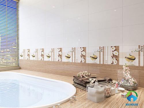 những mẫu gạch ốp nhà tắm đẹp 9