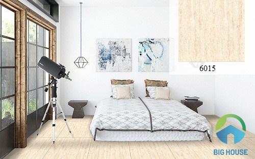 gạch giả gỗ lát nền phòng ngủ 4