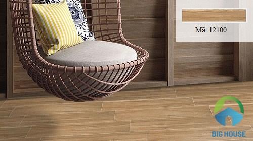 gạch giả gỗ lát nền phòng ngủ hoàn mỹ 7