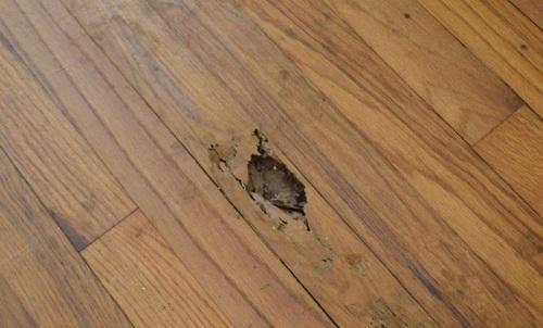 gạch giả gỗ lát nền phòng ngủ hoàn mỹ 8