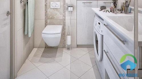 chọn gạch lát nền nhà vệ sinh
