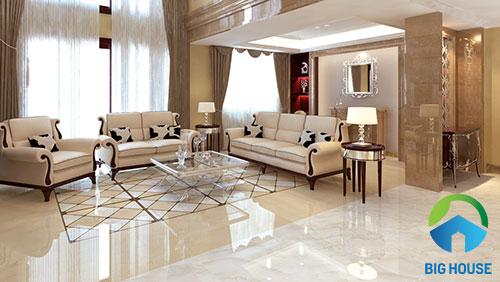 cách chọn gạch lát nền phòng khách 3