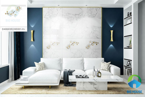 giá gạch ốp tường phòng khách 27