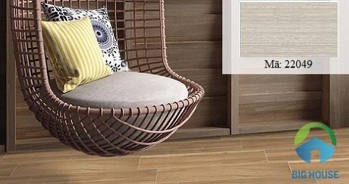 Gạch vân gỗ ốp tường phòng ngủ Hoàn Mỹ 22049