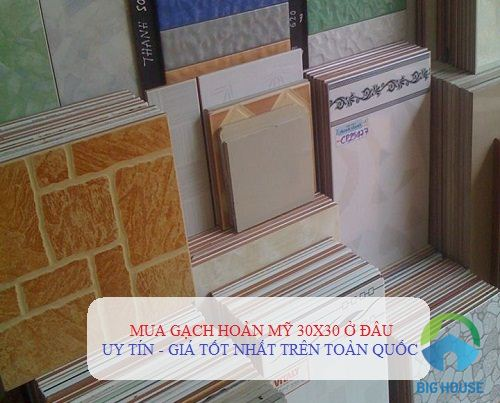 Địa chỉ Showroom gạch Hoàn Mỹ 30×30 uy tín nhất Việt Nam