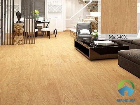 Mẫu gạch vân gỗ Hoàn Mỹ 80x80 34001