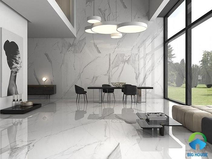 Cẩm nang hướng dẫn cách phối màu gạch ốp tường phòng khách từ A đến Z