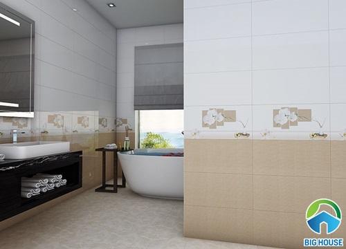 cách ốp gạch tường nhà vệ sinh 7