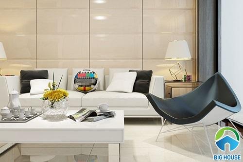 gạch hoàn mỹ ốp phòng khách 18039