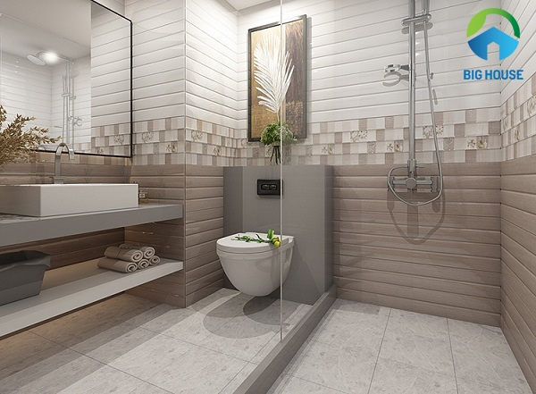 gạch ốp nhà vệ sinh 30x60 hoàn mỹ 3084