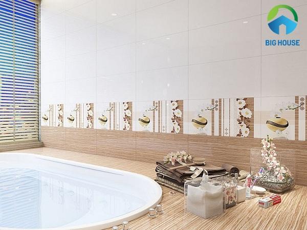 gạch ốp nhà vệ sinh 30x60 hoàn mỹ