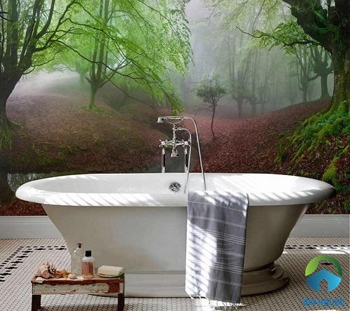 gạch ốp nhà vệ sinh 3D