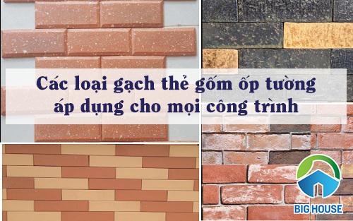 Gạch thẻ gốm ốp tường – Nét HOÀI NIÊM cho ngôi nhà hiện đại 2020