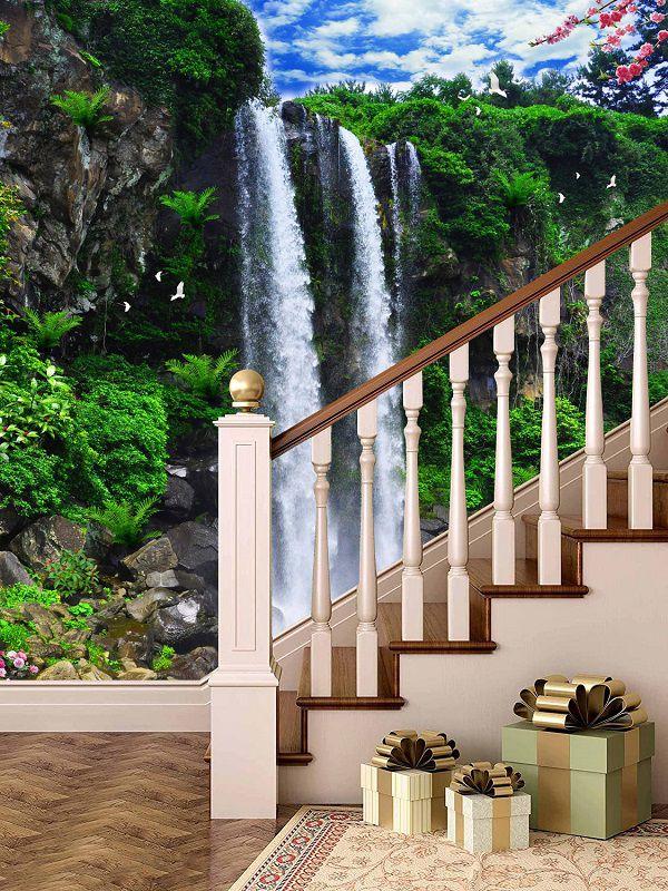kích thước gạch ốp tường cầu thang