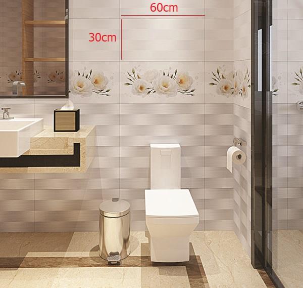 Gạch ốp tường 30x60 được sử dụng phổ biến nhất hiện nay